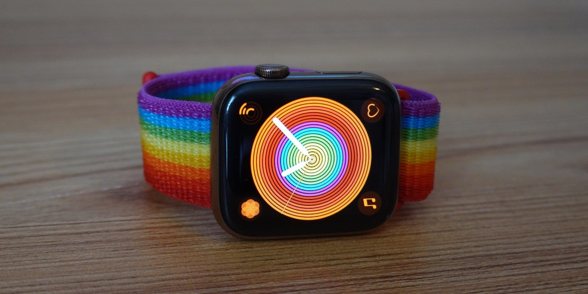 The 2019 Pride Sport Loop and Apple Watch faces