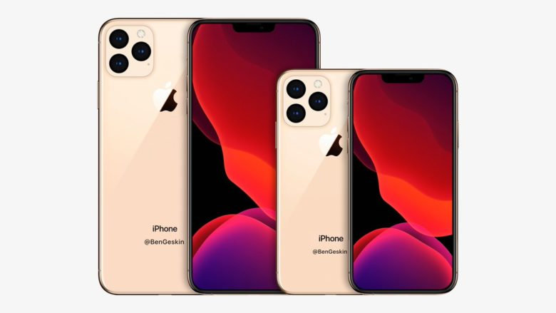This is what the 2020 iPhones might look like