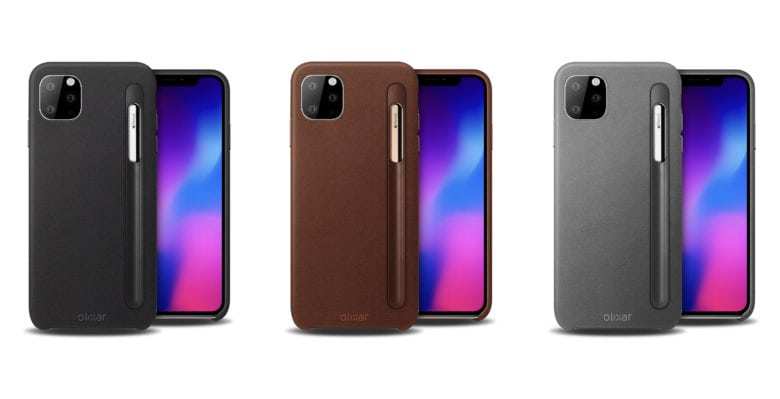 New 'iPhone 11 Pro' cases make way for … Apple Pencil?
