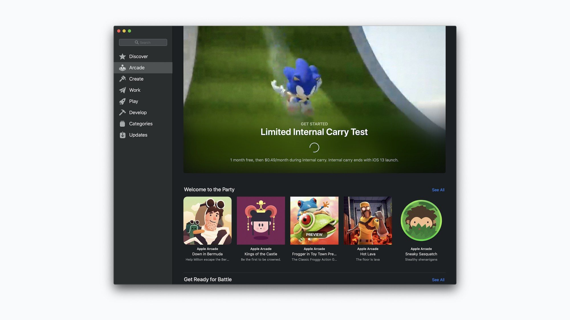 Apple running early access program for Apple Arcade, here's what it looks like