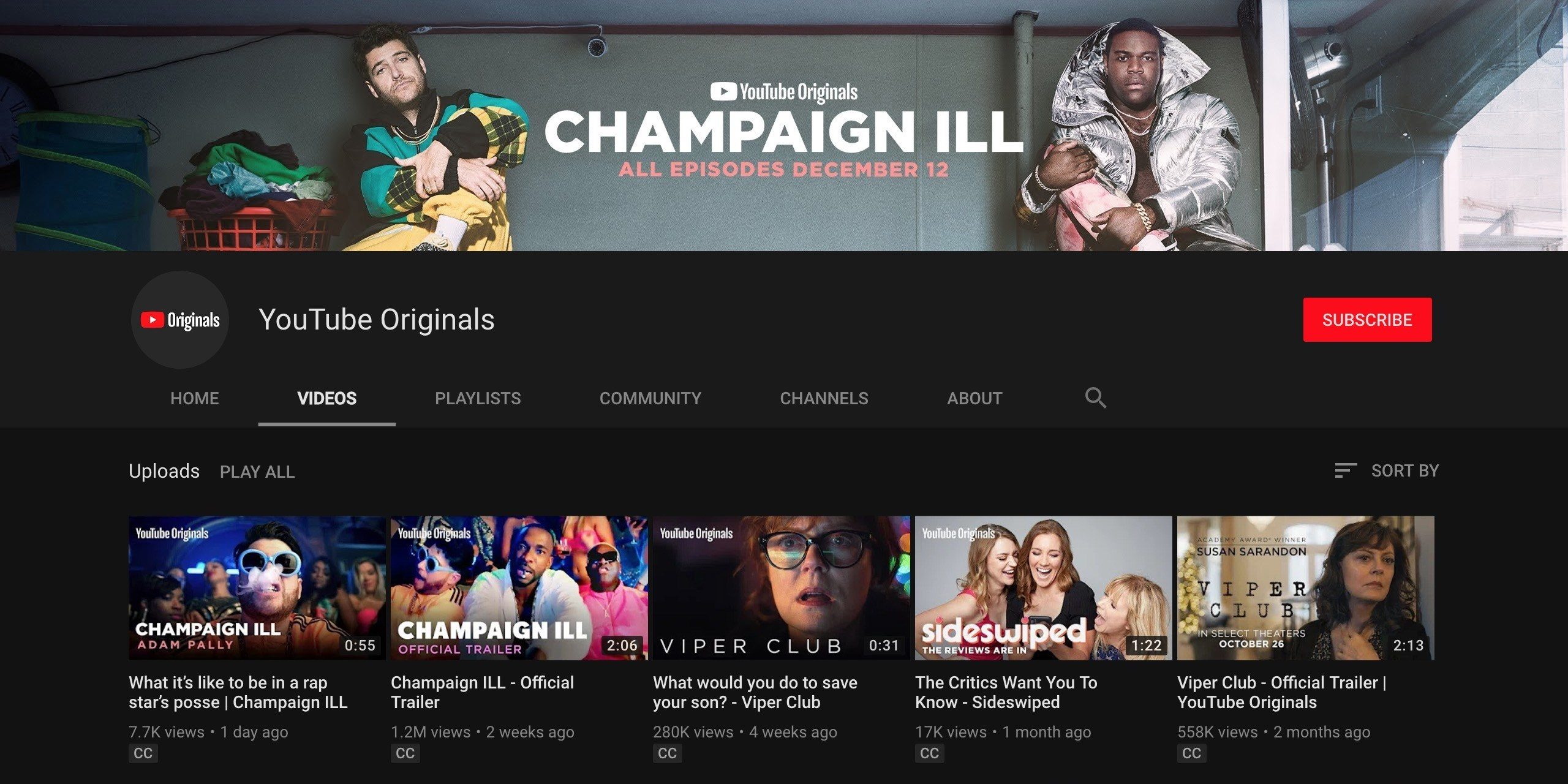 New YouTube Originals after September 24th will be free with ads