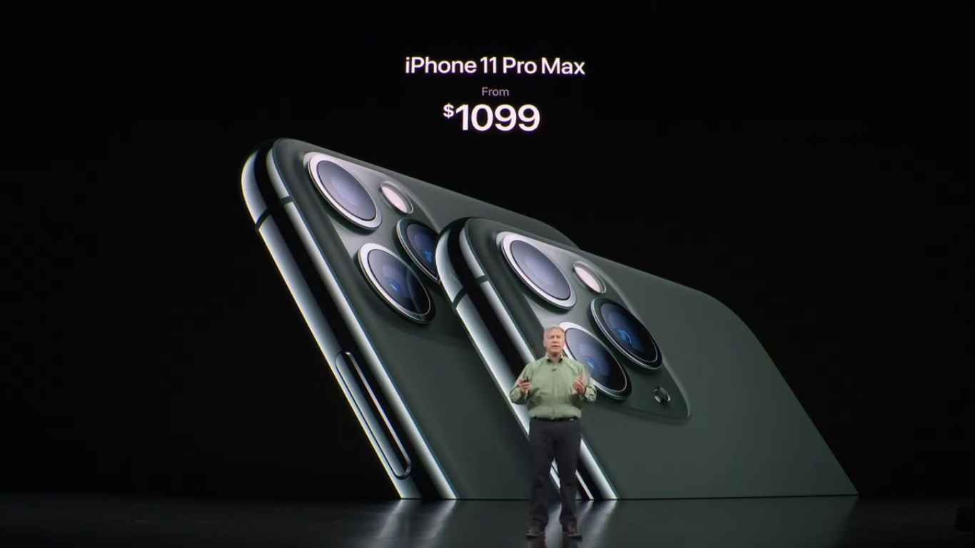 iPhone 11 and iPhone 11 Pro have up to 3,969 mAh battery capacity and 4GB of RAM