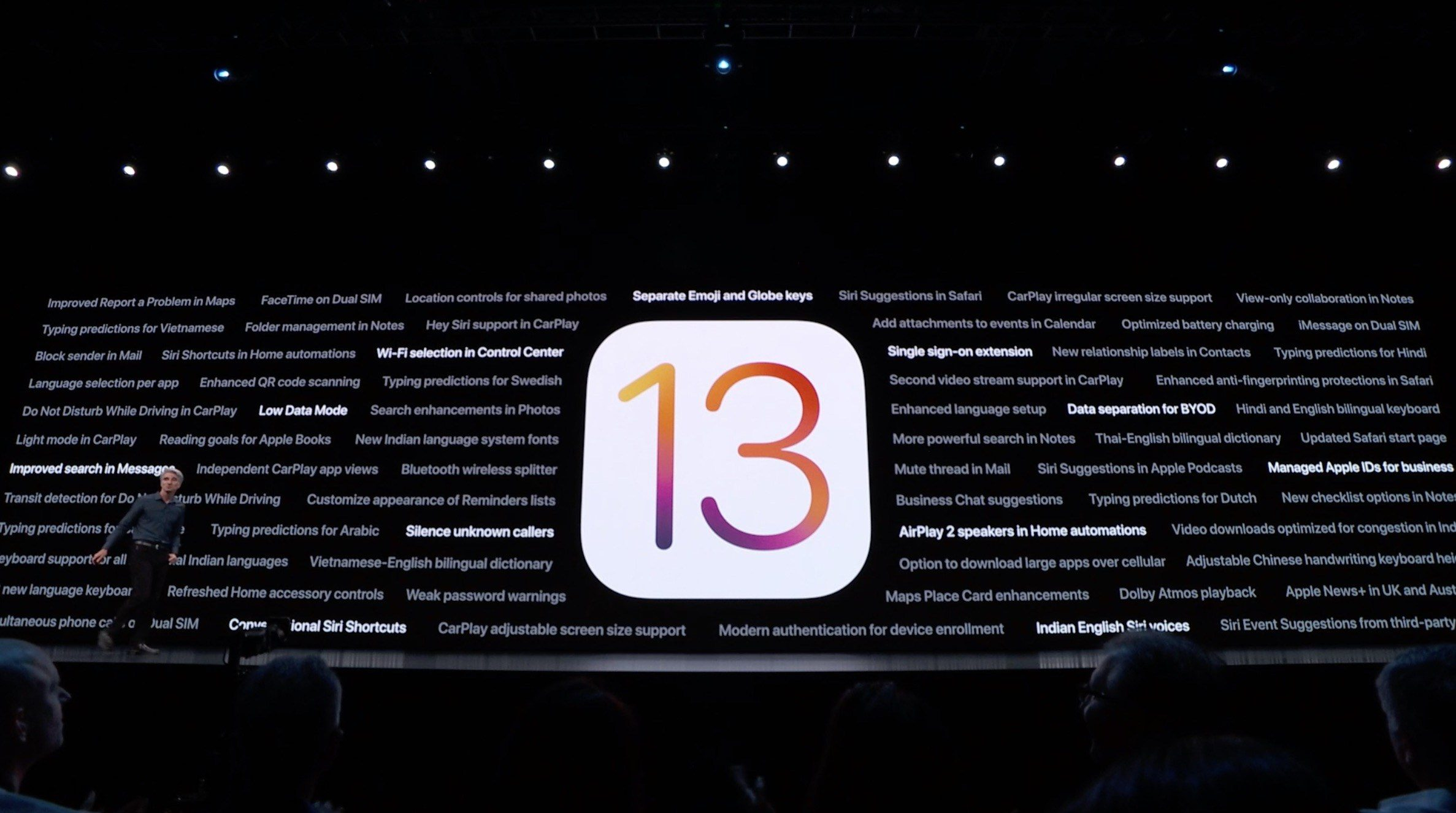 What's new in iOS 13 beta 4?