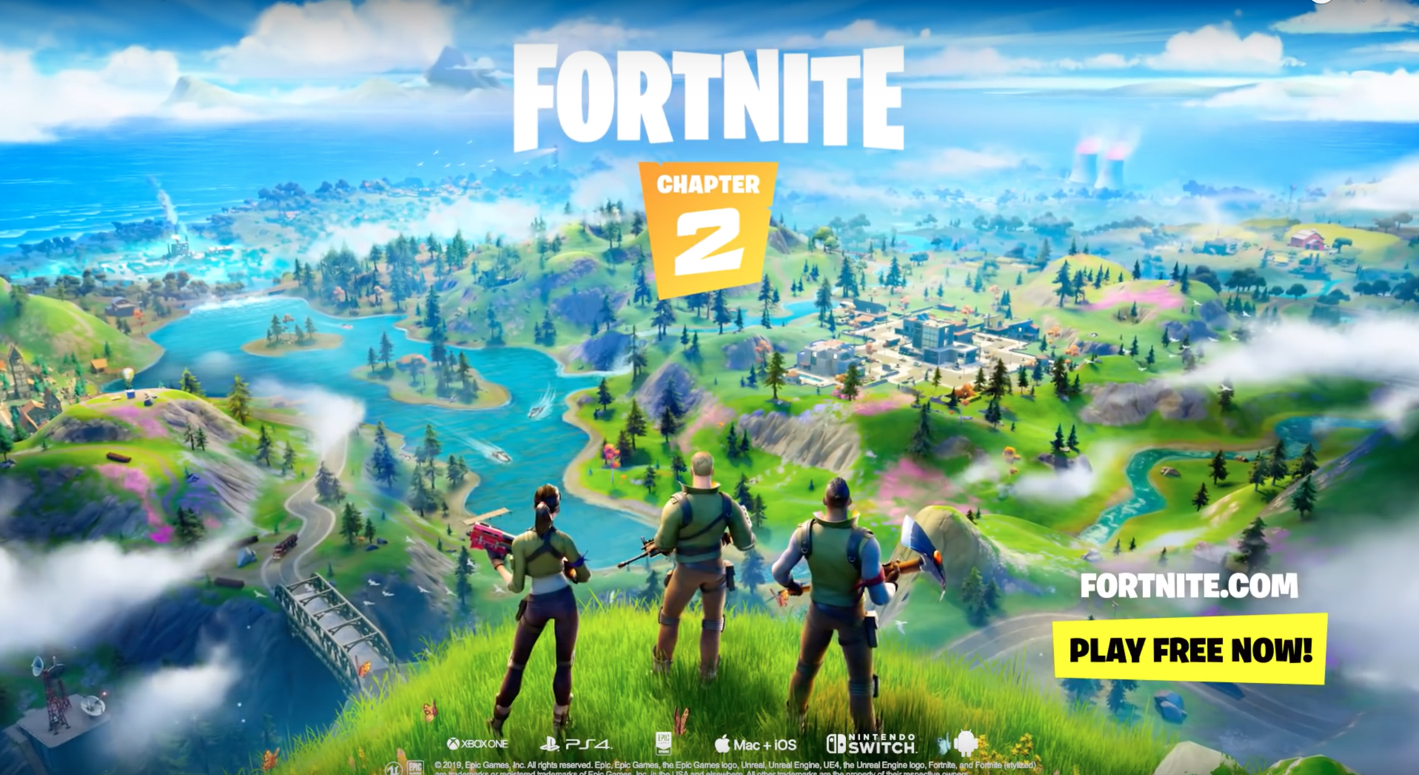 Fortnite Chapter 2 trailer leak shows off new map, boats, fishing, and more